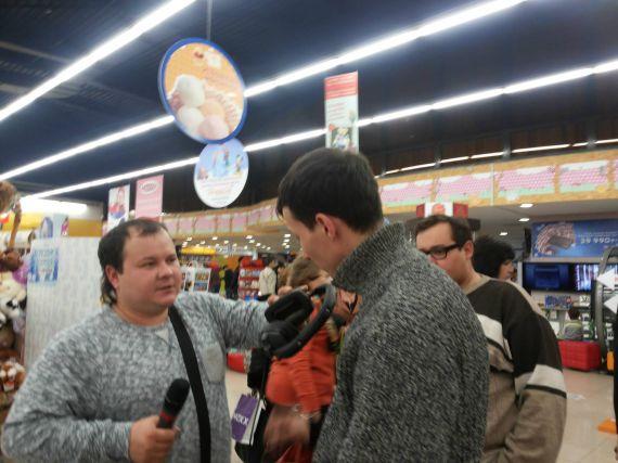 31 марта 2012 прямая трансляция с открытия первого магазина MARWIN