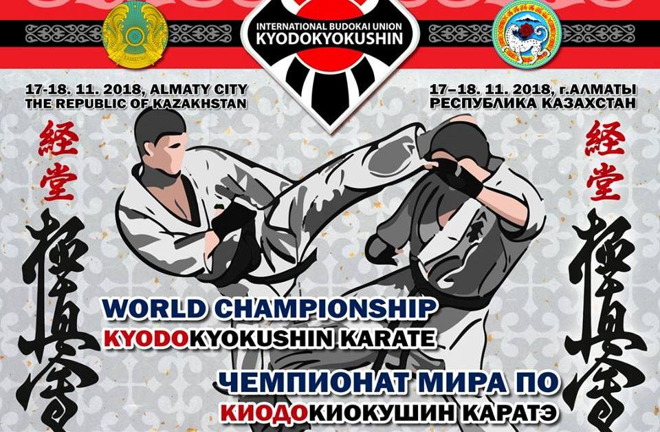 Прямая трансляция рейтинговых боев за чемпионский пояс Федерации Киодокиокушин каратэ (Алматы, 2018)